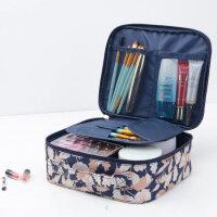 便携化妆包韩国多功能旅行收纳包手提新款旅游小袋女士防水洗漱包