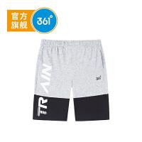 【下单立减价:47.6】361度童装 男童针织五分裤2019年夏季新品运动休闲裤K51923527