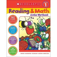 [现货]Reading & Math Jumbo Workbook: Grade 1