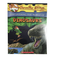 英文原版 老鼠记者系列:GERONIMO STILTON ENCYCLOPEDIA: DINOSAUR 儿童阅读科普百