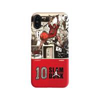 灌篮高手樱木iPhoneXS MAX手机壳乔丹苹果XR硬壳7p/8plus潮男磨砂 樱木扣篮白+红三包硬壳-i7/8