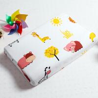 泰儿童动物卡通乳胶枕学生枕芯小孩枕头j