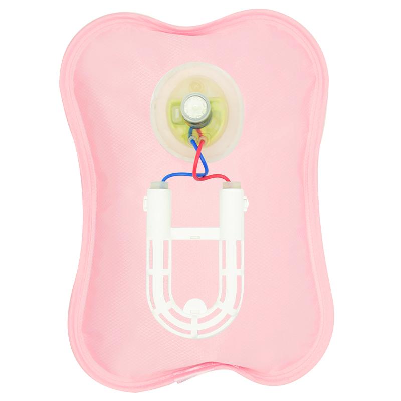 热水袋暖手宝充电式注水煖宝宝暖宫暖水袋毛绒可拆洗