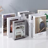 假书仿真书装饰品摆件现代简约创意装饰书客厅家居北欧道具书摆设