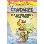 【预订】My Autosaurus Will Win! (Geronimo Stilton Cavemice #10)