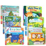 顺丰发货 英文原版绘本小熊很忙6册 Bizzy Bear: DIY Day /We Wish You a Merry