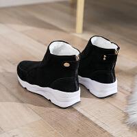 雪地靴短筒韩版百搭2018新款冬季保暖加绒学生厚底短靴女鞋子棉鞋
