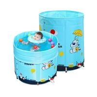 大号宝宝游泳桶洗澡桶婴儿游泳池家用新生幼儿童合金支架