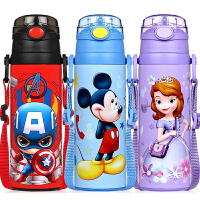 儿童吸管保温杯不锈钢便携小学生水杯幼儿园大容量宝宝杯子
