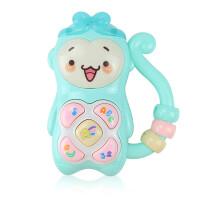 儿童益智多功能音乐小猴玩具手机宝宝婴儿音乐故事早教电话机