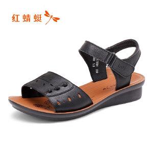 红蜻蜓女鞋女凉鞋WTK7359