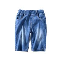 男童牛仔短裤夏季儿童软牛仔裤宝宝童装五分裤