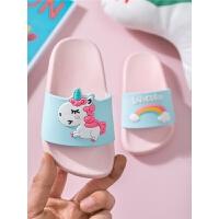 儿童拖鞋夏室内家用小孩幼儿可爱洗澡防滑男童女童亲子宝宝拖鞋夏