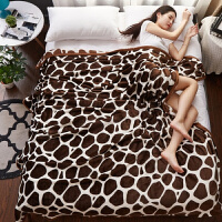 冬季简约珊瑚绒床单单件加绒加厚法兰绒垫毯单人垫单双人毛绒毯子k