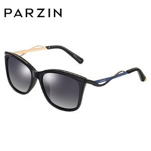 帕森太阳眼镜 女士轻盈TR90偏光镜 复古潮墨镜 9829