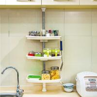 [当当自营]宝优妮 厨房调味料置物架三层架角架调料架收纳架储物架厨房用品DQ0787-3