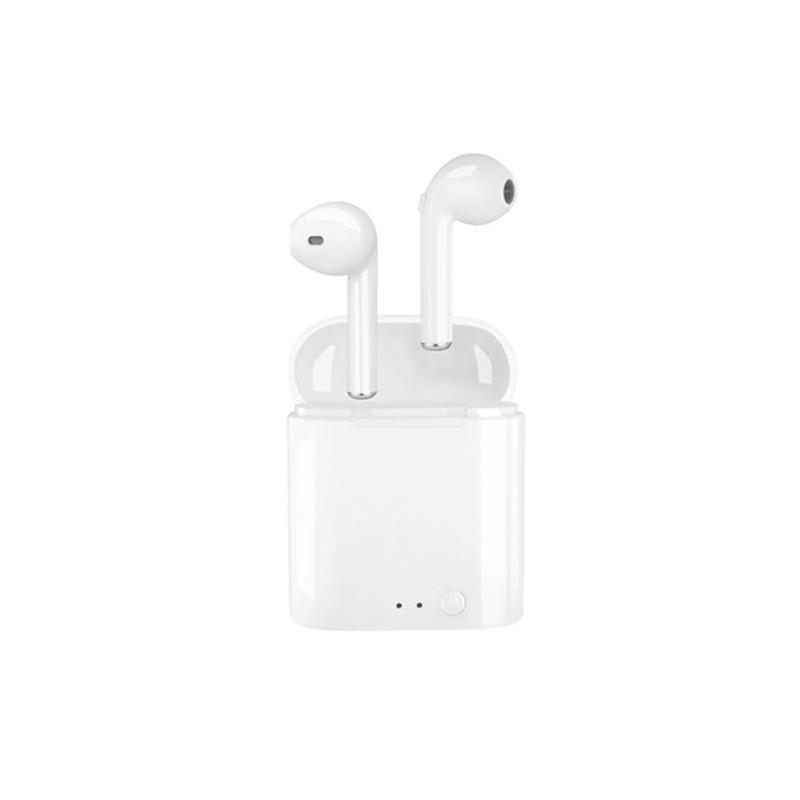无线蓝牙耳机5.0双耳入耳式适用于小米华为vivo魅族r15oppor17苹果x7p安卓通用型原装专用型运动挂脖单耳跑步 舒适佩戴,不胀痛,无线双耳立体