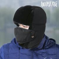 男士户外加厚男冬帽百搭休闲款雷锋帽骑车帽子保暖护耳帽