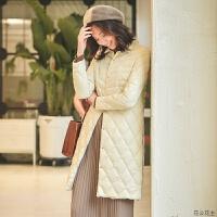 轻薄羽绒服女中长款2018新款轻便薄款韩版女士时尚修身长款外套潮