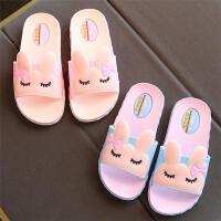 多姆儿童拖鞋夏 女童凉拖家用 室内防滑托鞋女公主宝宝男童小孩男家居