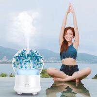 加湿器 创意迷你加湿器永生花香薰机家用静音空气净化喷雾