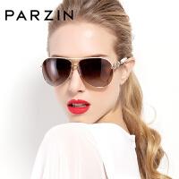 帕森太阳镜女优雅水钻偏光镜时尚眼镜驾驶潮墨镜
