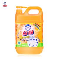 白猫 生姜香型 洗洁精 4斤 瓶装 冷水去油除腥护手