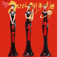 中式仕女家居装饰摆设实用客厅摆件新婚送礼品结婚礼物