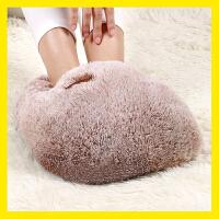 充电暖脚宝电暖鞋电热垫暖脚器插电热水袋保暖鞋床上睡觉用