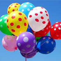 孩派/生日派对用品/派对装饰/12寸/满印圆点/乳胶气球/1个