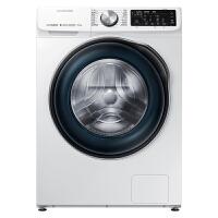 三星(SAMSUNG)10公斤滚筒洗衣机智能变频纤薄大容量蒸汽除菌泡泡净WW1WN64FTBW/SC