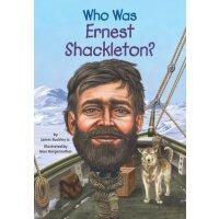 【现货】英文原版 WHO WAS ERNEST SHACKLETON 萨克立顿是谁 名人传记 中小学生读物