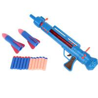 光头强的火箭炮 可发射软导弹儿童玩具枪 熊出没玩具