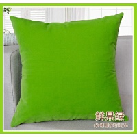 素色靠垫纯色抱枕沙发靠垫办公室靠枕床头靠背套含芯靠包大号腰枕