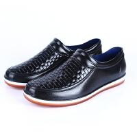 新款休闲雨鞋男士低帮男款雨靴水鞋浅口滑厨房工作鞋胶鞋