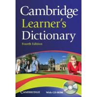 【预订】Cambridge Learner's Dictionary [With CDROM]