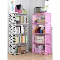 学生用书柜小书架桌上儿童简约现代收纳储物柜简易书架落地置物架