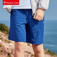 【到手价:72元】探路者儿童短裤 春夏户外男童儿童速干短裤QAMH83062