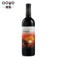 傲鱼AOYO智利原瓶进口红酒 看海3精酿西拉梅洛干红葡萄酒750ml*1