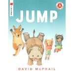 英文原版 JUMP 儿童亲子英语启蒙绘本图画书 I Like to Read Level A