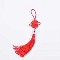 中国结小号6盘结8盘结挂件吉祥家居装饰盆栽灯笼挂饰送老外小礼品(6个装)