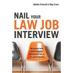 【预订】Nail Your Law Job Interview: The Essential Guide to Fir