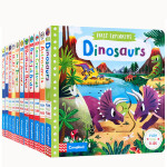 英文进口原版 First Explorers科普系列11册合售 机关操作纸板书 幼儿认知趣味玩具书亲子互动图画书