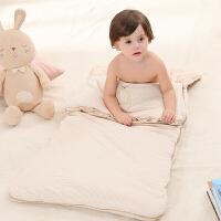 抱被小孩睡袋儿童被子 婴儿睡袋宝宝秋冬季厚