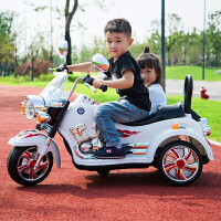 儿童电动三轮车摩托车小孩宝宝玩具充电童车超大号可坐双人带遥控