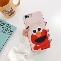 网红卡通软壳8plus苹果x手机壳XS Max/XR/iPhoneX/7p/6女iphone6s 6/6s 红色
