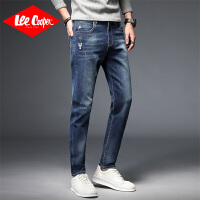 Lee Cooper 春夏男装牛仔裤潮牌韩版男士直筒长裤子百搭牛仔裤男