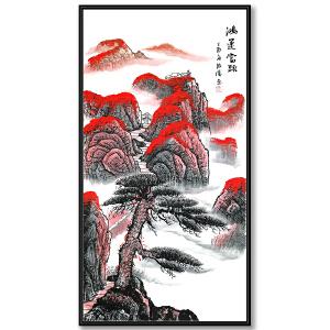 职业画家 覃海涛《鸿运当头》JXFT503