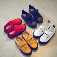 儿童帆布鞋男童休闲鞋板女童球鞋中大童布鞋