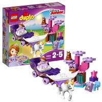 [当当自营]LEGO 乐高 DUPLO得宝系列 小公主苏菲亚?的第一辆魔法马车 积木拼插儿童益智玩具10822